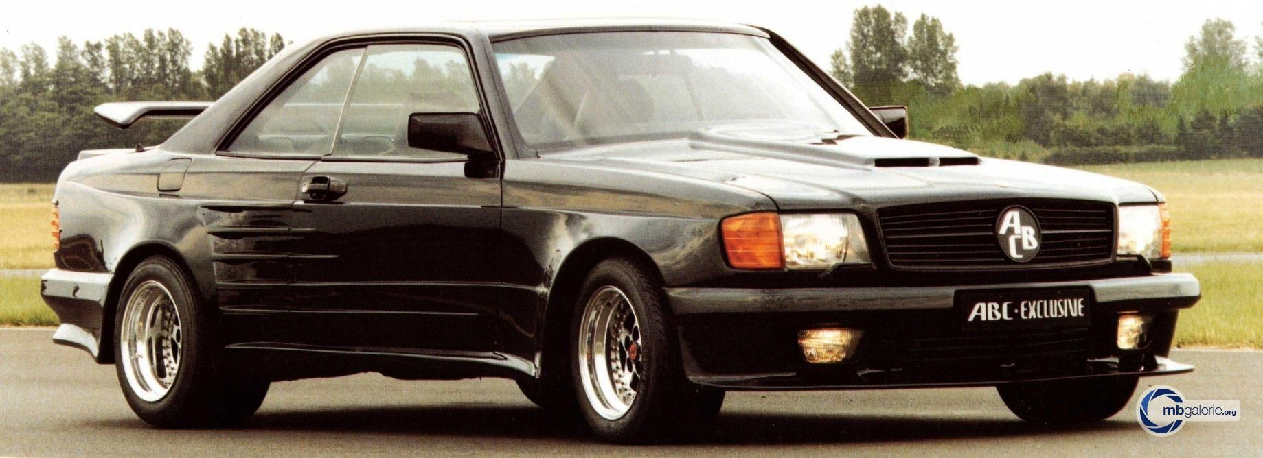mercedes benz sec class w126 widebody by abc exclusive tuning MB Wheels mercedes benz sec class w126 widebody by abc exclusive tuning pany