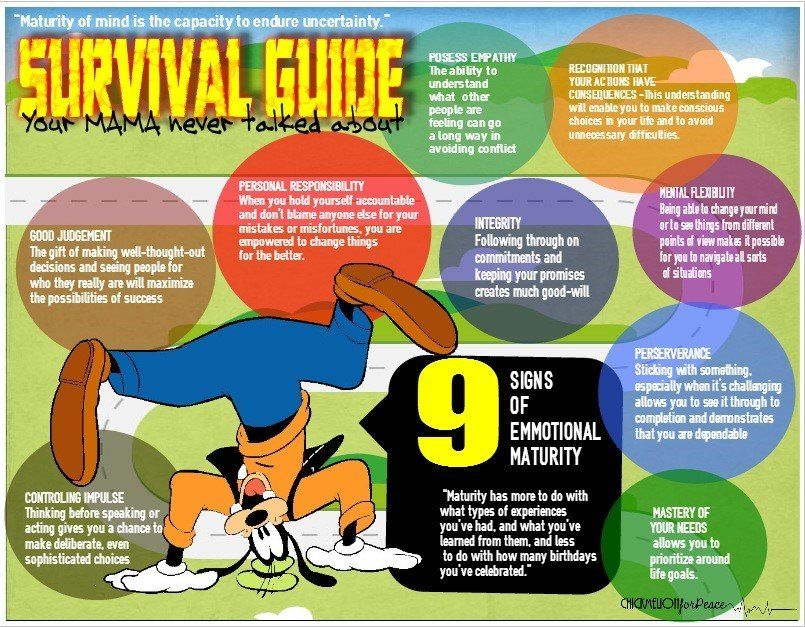SurvivalGuide Infographic, How to create infographics