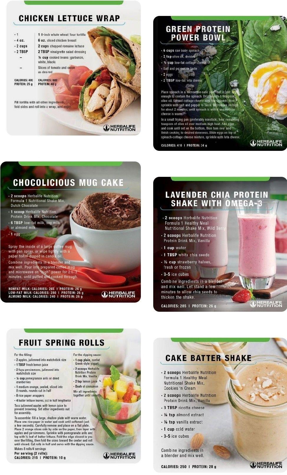 Pin by Brandi Lynn on Herbalife recipes   Clean eating ...