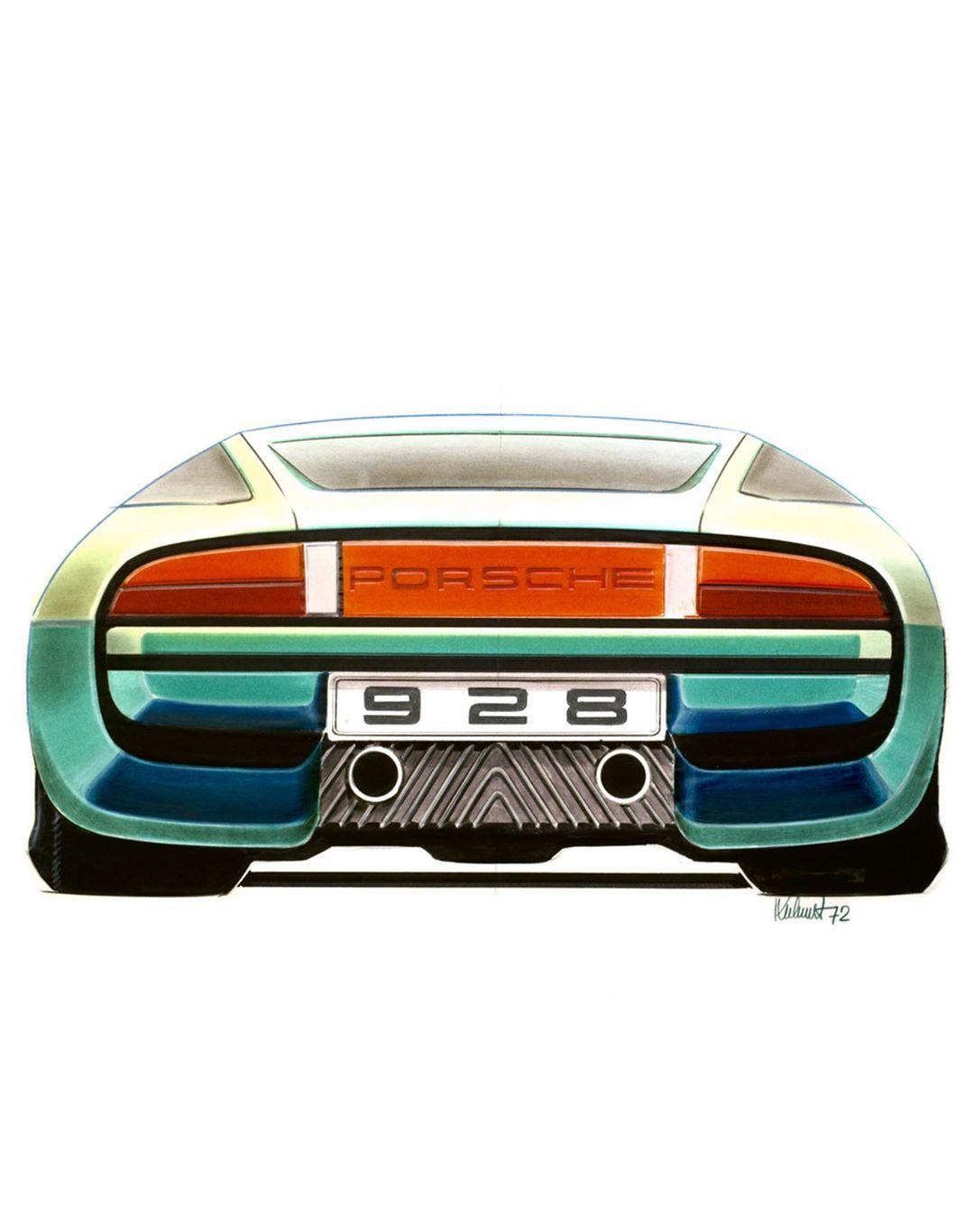 2020 Porsche 928Concept Redesign