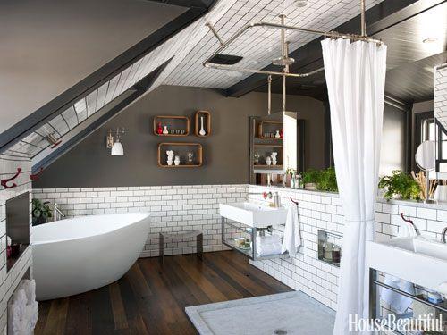 Raumteiler Badezimmer Pinterest Raumteiler und Badezimmer - badezimmer ideen dachgeschoss