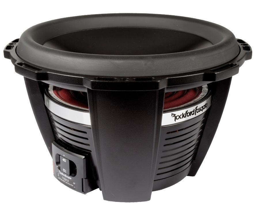 Dual Voice Coil Subwoofer Box 2004 Suzuki Eiger 400 4x4 Wiring Diagram Rockford 12 2 Ohm T1d212 Car Audio