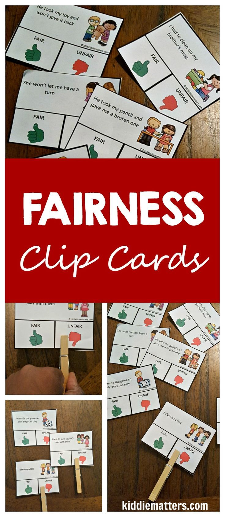 Fairness: Character Education and Social Skills Activities   Social skills  activities [ 1690 x 736 Pixel ]