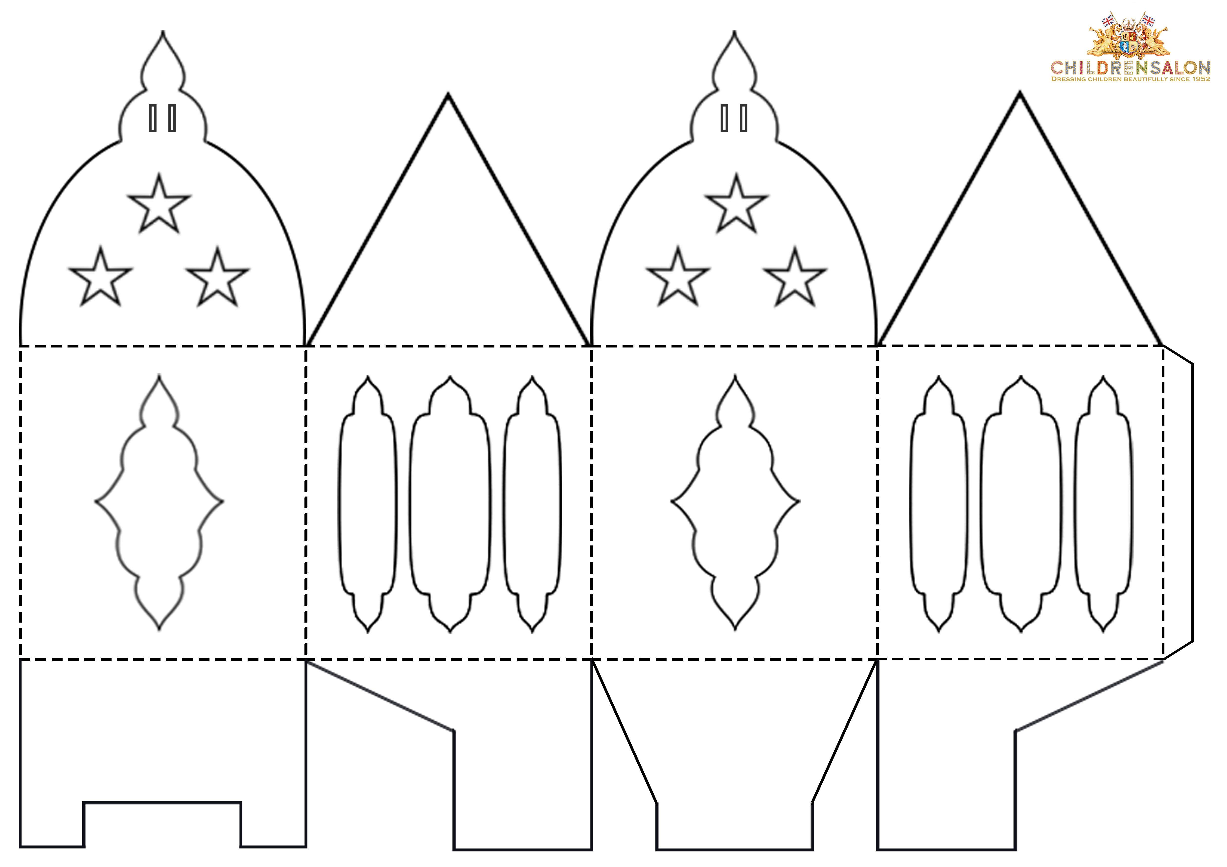 Eid Gift Box Template Childrensalon Jpg 4 961 3 508 Pixels Paper