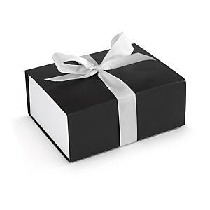 Gift Box With Ribbon Fastening Packaging Flat Pack Gift Boxes