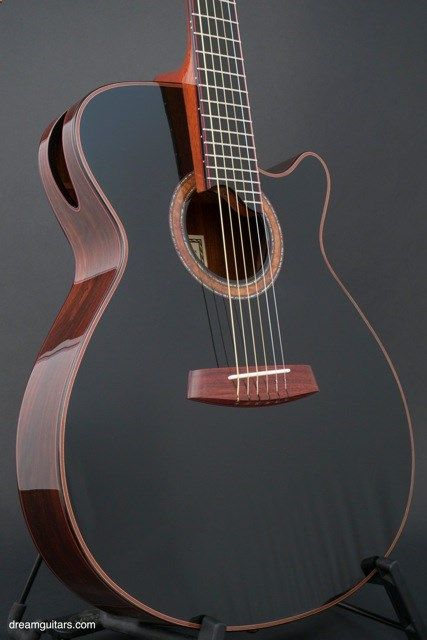 acoustic guitar ergo guitar this is the best looking acoustic i have ever seen droolin. Black Bedroom Furniture Sets. Home Design Ideas