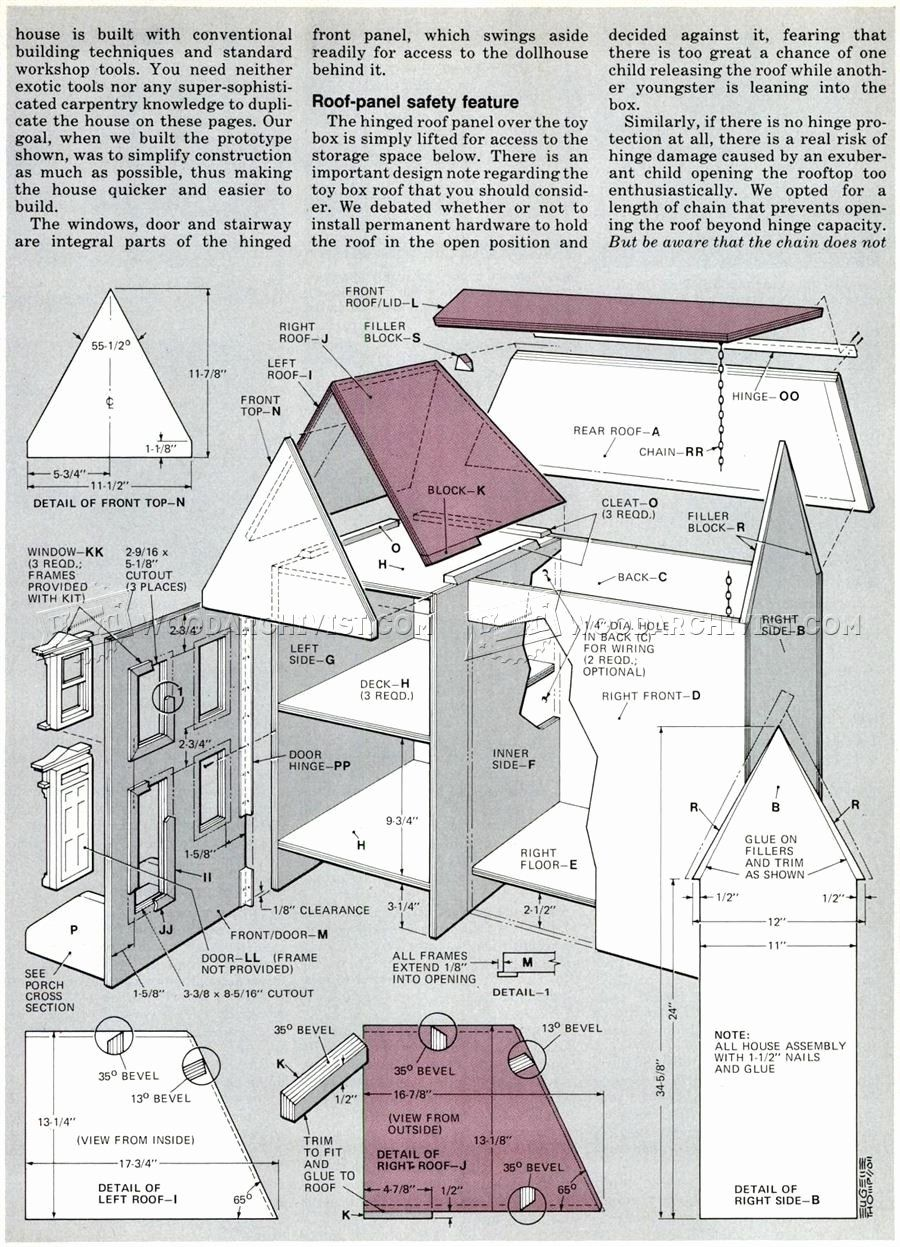 Dollhouse Floor Plans Collection