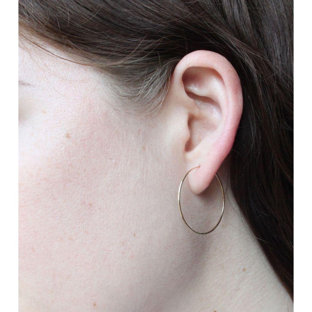 2b5754fcec28d Big Hoop Dream Earrings - Catbird :: $140 | Fantasy Closet: Clothes ...