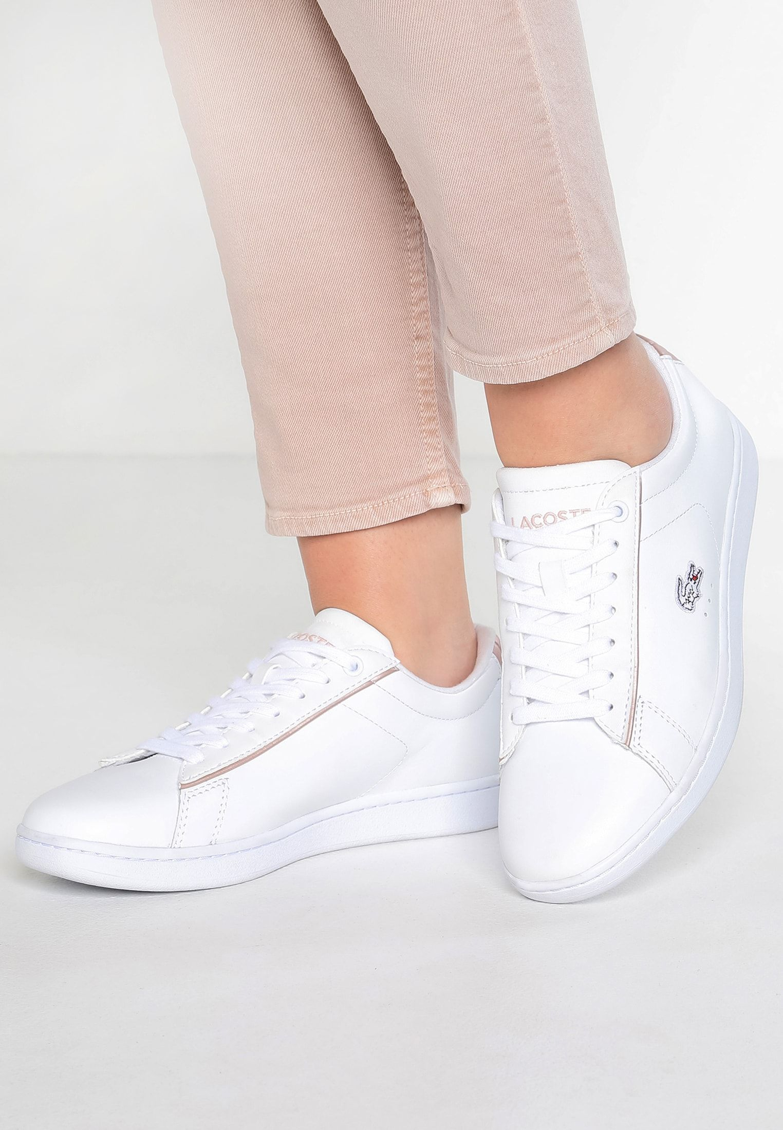 Lacoste CARNABY EVO - Trainers - white