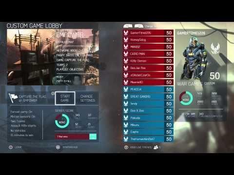 8bada782f131 Halo 5 Main Menu   Custom Game Lobby (Xbox One) - YouTube
