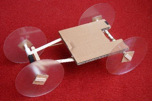Rubber band powered car | Kid Projects: Games, Toys ...