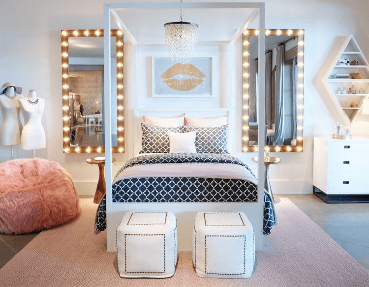 sophisticated bedroom for teen girl