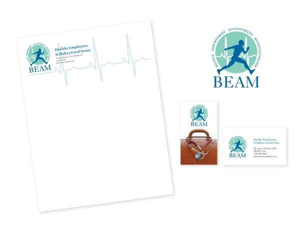 Client beam project brand identity kit logo letterhead business letter envelope the letter sample spiritdancerdesigns Images