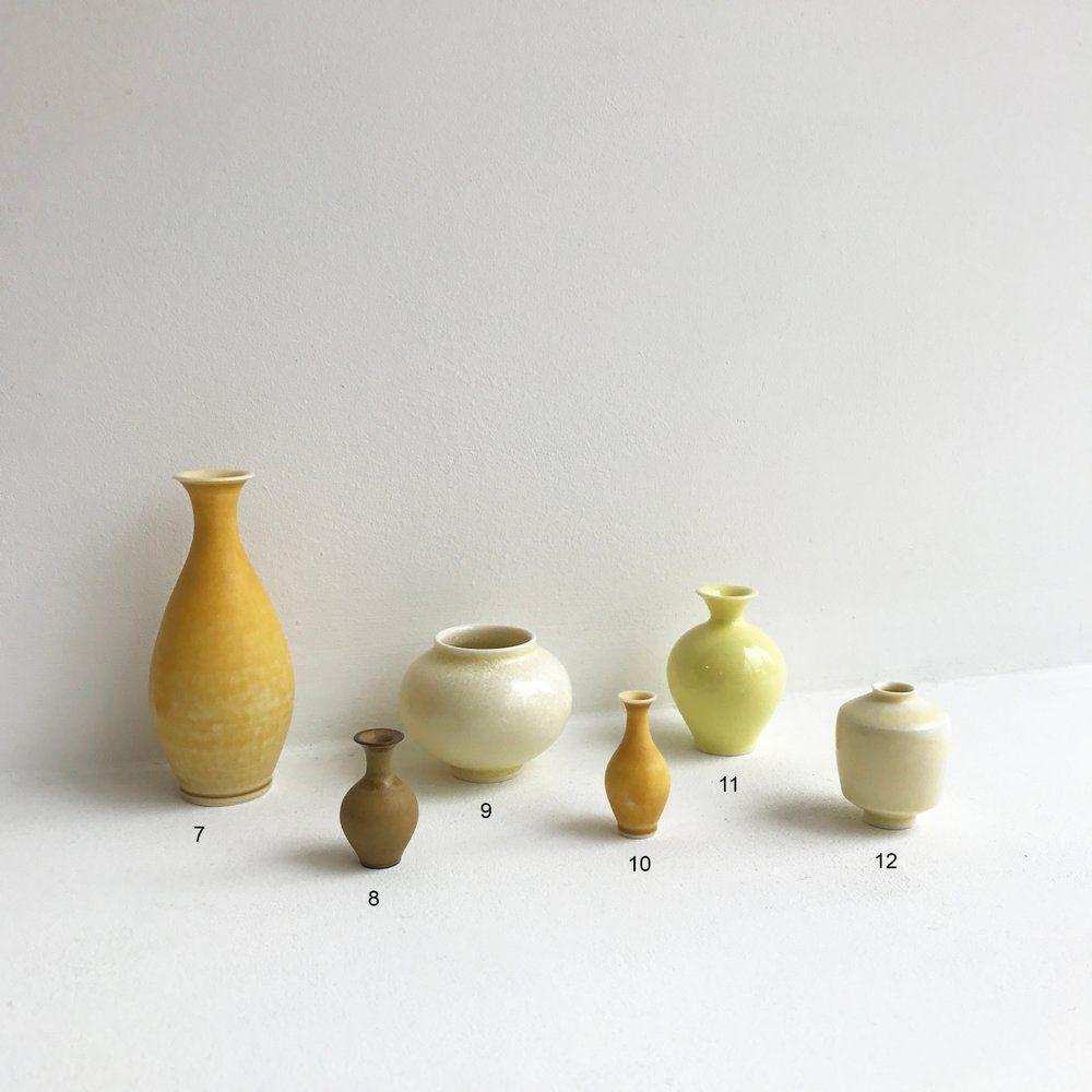 Tiny Vase Hand Thrown Pottery