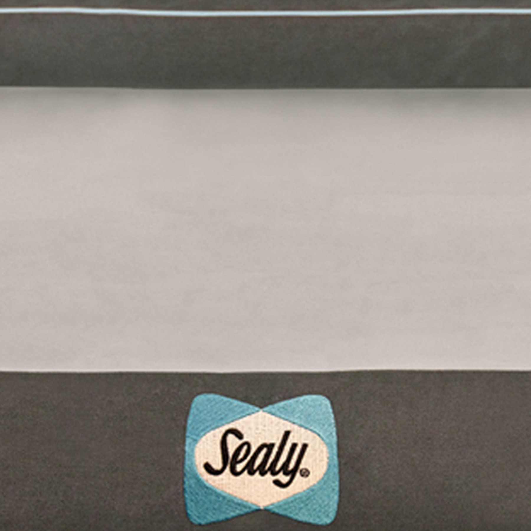 Sealy Dog Bed for Dogs Modern Gray XLarge *** Visit the
