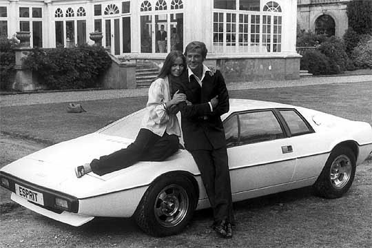 """The Lotus Esprit from """"The Spy Who Loved Me"""" (1977)"""