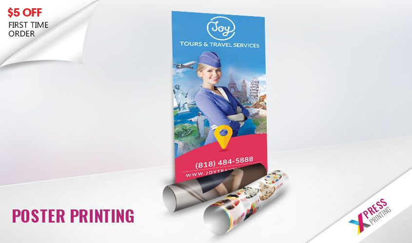 cheap poster printing 24x36 with free delivery through out la