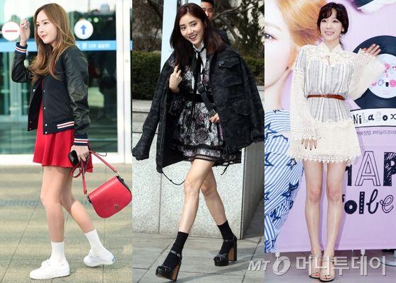 제시카, 손담비, 소녀시대 태연 /사진=뉴스1, 머니투데이DB