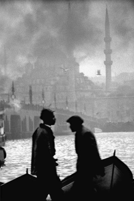 Corne d\'Or, vieux Pont de Galata et nouvelle Mosquée, Istanbul ...