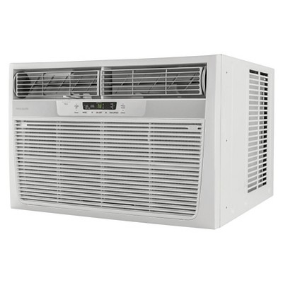 Frigidaire 28000 Btu 230v Window Mounted Conditioner With Temperature Sensing Remote Control White Best Window Air Conditioner Window Air Conditioner Room Air Conditioner