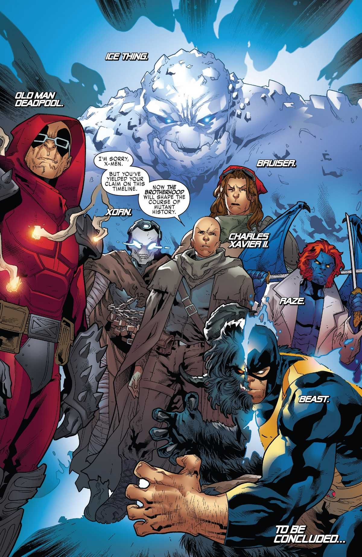 X Men Blue 2017 19 Page 19 Online Marvel Comic Character Marvel Comics Art Marvel Characters