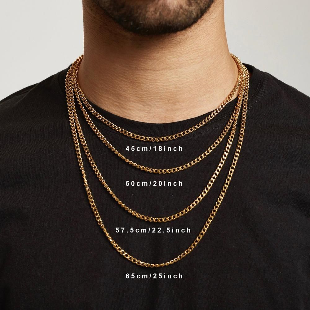 St George Pendant Necklace Gold Gold Necklace For Men Chains For Men Men S Necklace