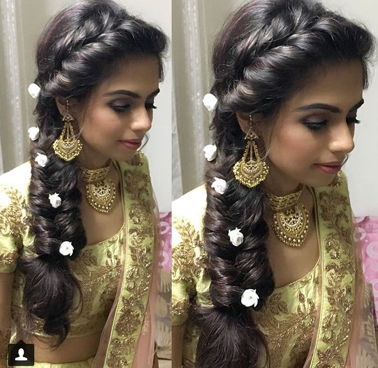 Pin by Aiswarya R on Hair | Engagement hairstyles, Hair styles, Traditional hairstyle
