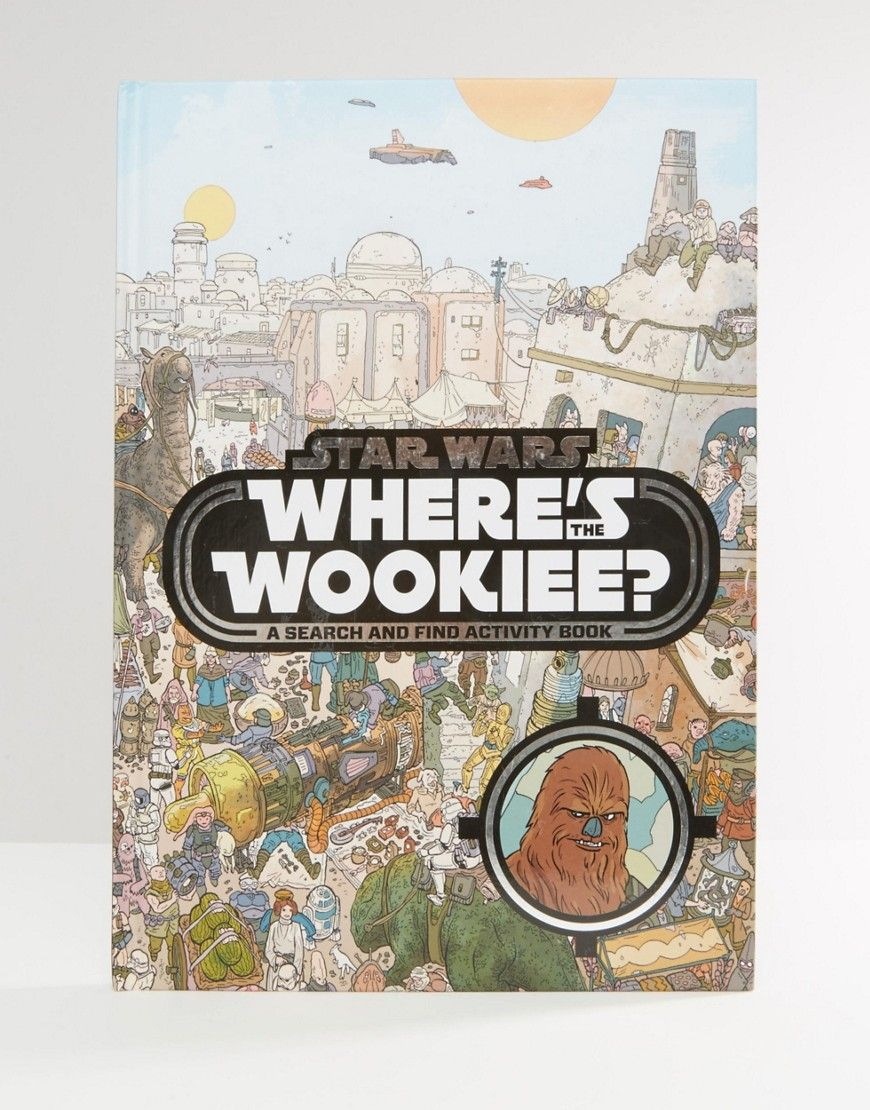 Image 1 of Star Wars Where's Wookiee Book