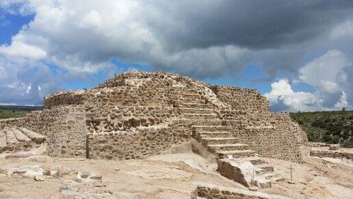 Zona Arqueológica El Cóporo En Ocampo Guanajuato México