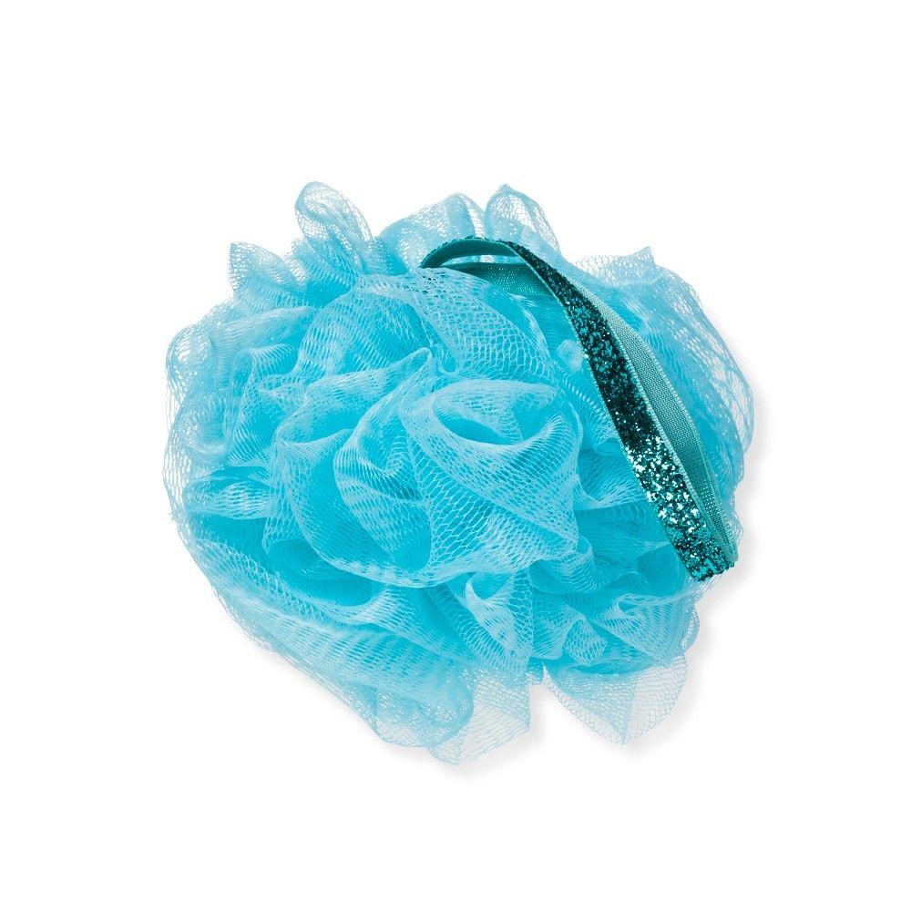 Target Beauty Box Holiday Green Pouf With Metallic Rope Bath Sponges And Loofahs Beauty Box Bath Sponges
