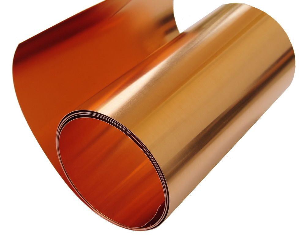Copper Sheet 10 Mil 30 Gauge Tooling Metal Roll 36 X 6 Cu110 Astm B 152 Ebay Copper Sheets Copper Roll Copper Crafts