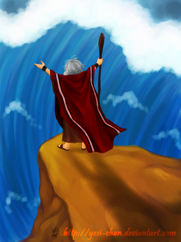 Parting of the Red Sea by yesi-chan on DeviantArt