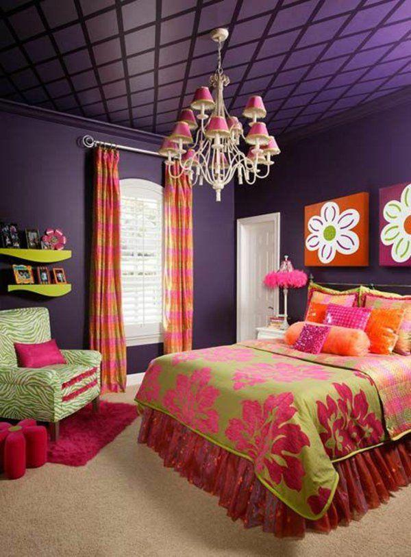 Farbideen Schlafzimmer einflußreiche Farben und