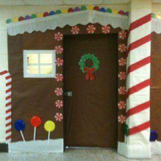 Christmas Classroom door decor oh my goodness SO many cute and fun