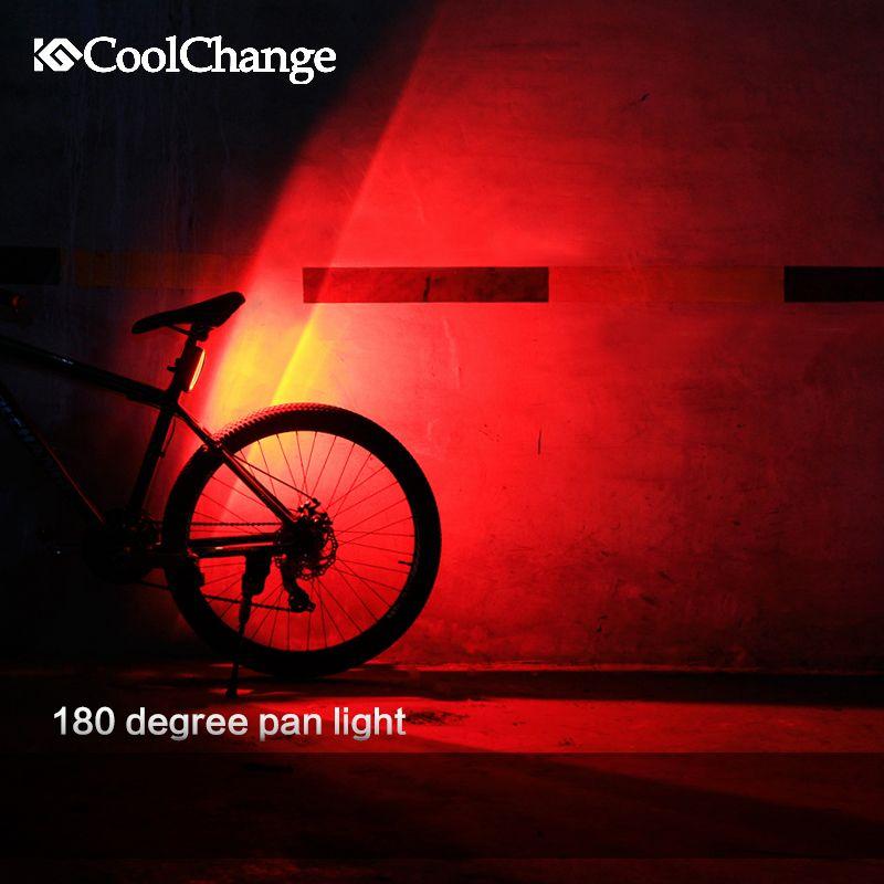 coolchange fahrrad licht usb wiederaufladbare led. Black Bedroom Furniture Sets. Home Design Ideas