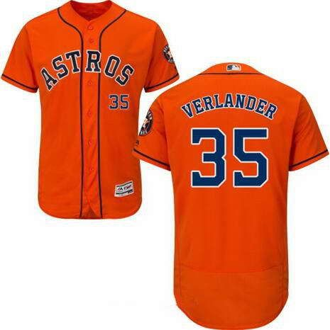 3efc67f0a  21 Men s Houston Astros  35 Justin Verlander Orange MLB Majestic Flex Base  Stitched Jersey.jpg