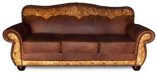 Cowhide Western Furniture Longhorn Sofa Luv