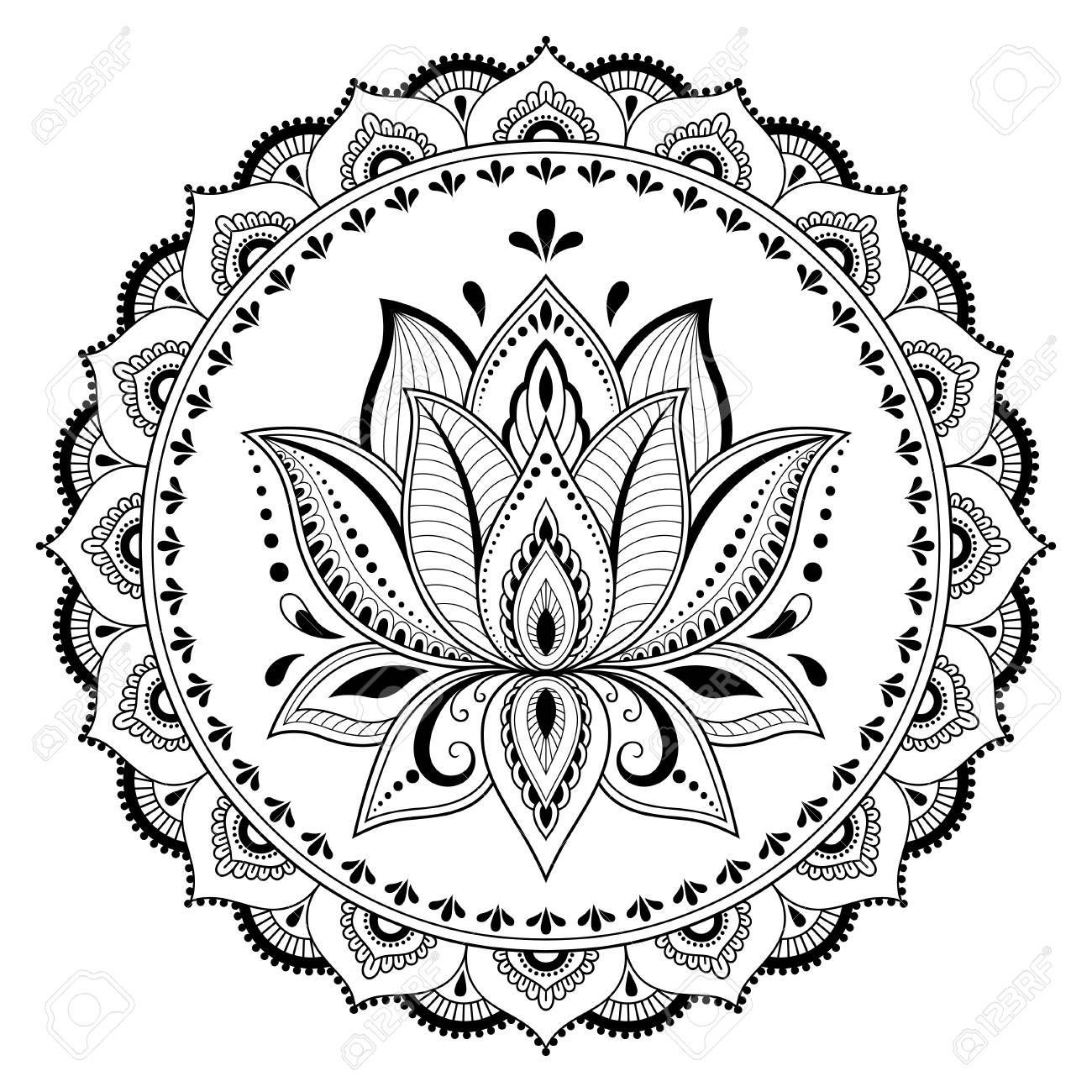 Pin Di Alessia Belle Su Mandala Tatuaggi Fiore Di Loto Tatuaggio Di Fiore Pittura Di Mandala