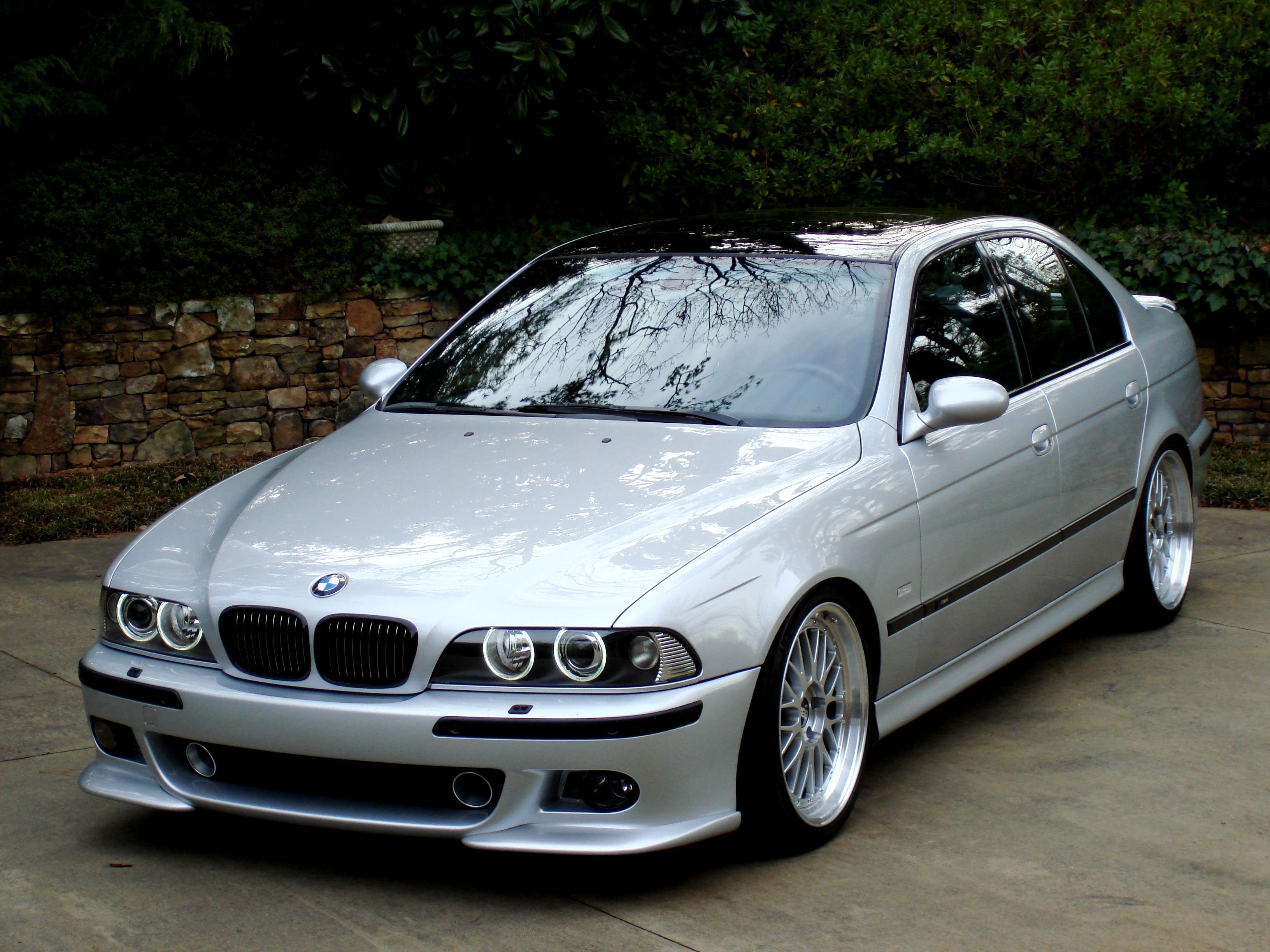 bmw e39 m5 titanium silver with sink drain mod projector. Black Bedroom Furniture Sets. Home Design Ideas