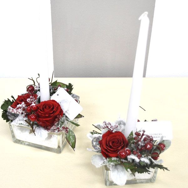 Composizioni natalizie centrotavola natale red quadri rose stabilizzate pinterest natale - Centrotavola natalizi pinterest ...
