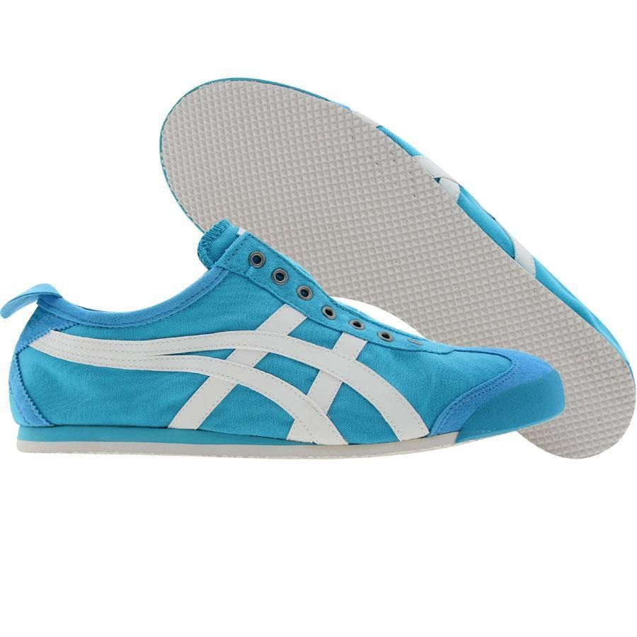 Women's Athletic Shoes/onitsuka tiger blue blue by asics lawnship crystal crystal pc2d73l5