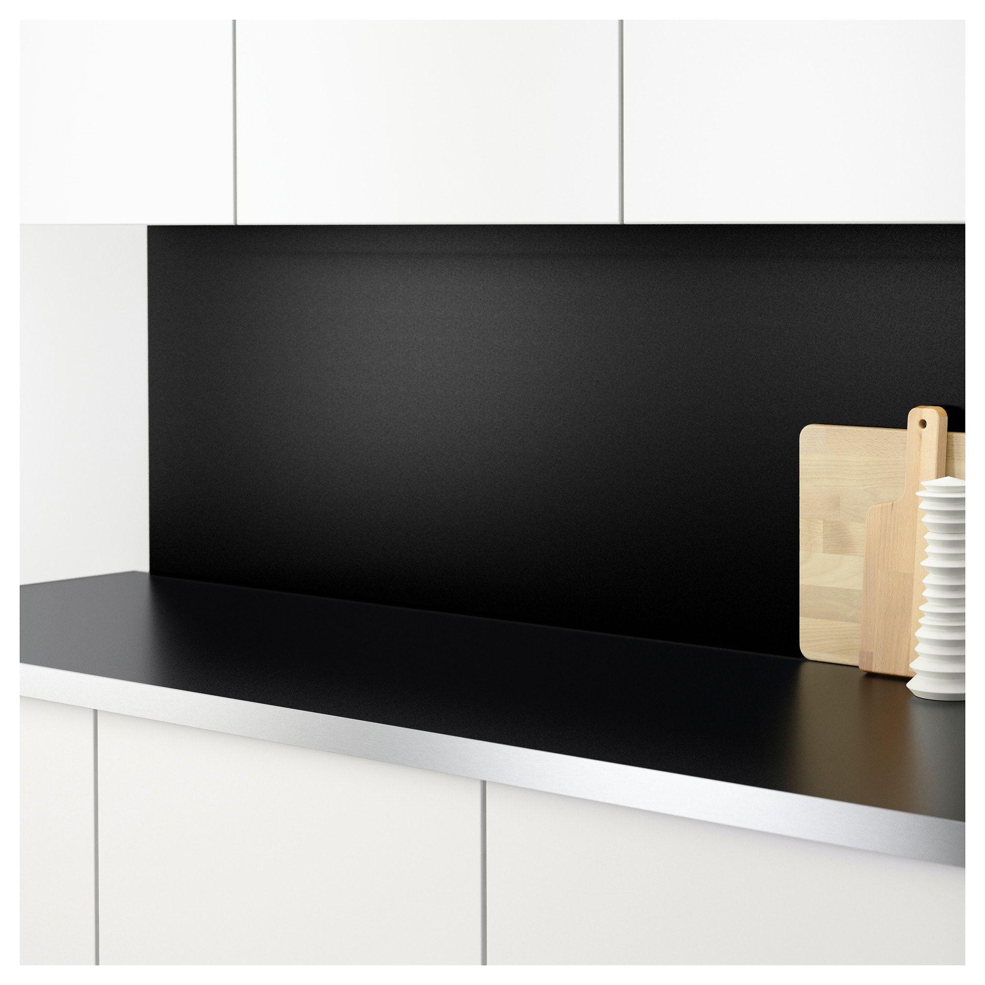 Sibbarp Wandpaneel Massgefertigt Schwarz Laminat Decoration Interieure Et Exterieure Ikea Parement Mural