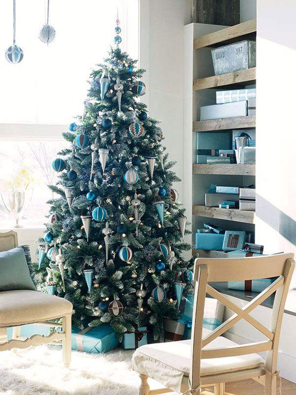 Albero Di Natale Argento E Blu.Albero Di Natale Verde Decorazioni Natalizi Palline Puntale Azzurro Turchese Argento Poltro Alberi Di Natale Blu Decorazioni Di Natale Fai Da Te Natale Moderno