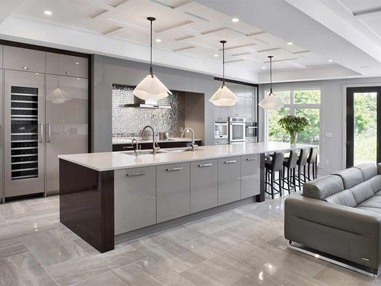 35 amazing modern contemporary kitchen ideas page 11 of 37 grey kitchen designs on kitchen ideas modern id=35731