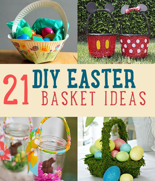 15 diy easter basket ideas that will have you hoppin for Easter craft gift ideas