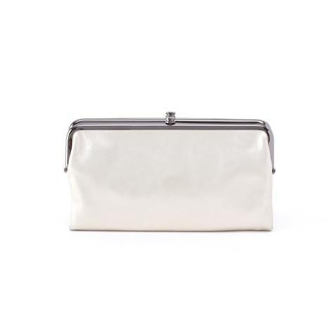 b03426aaa800 Lauren Black Leather Everyday Wallet   Travel Clutch For Women. Lauren Hobo  Wallet in Opal. Lauren Clutch Wallet by Hobo