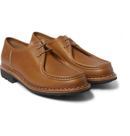 HESCHUNG Thuya Leather Derby Shoes £258.33