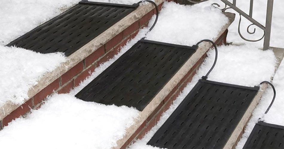 Residential Snow Melting Stair Mat Snow Melting Mats Ice Melting Snow And Ice