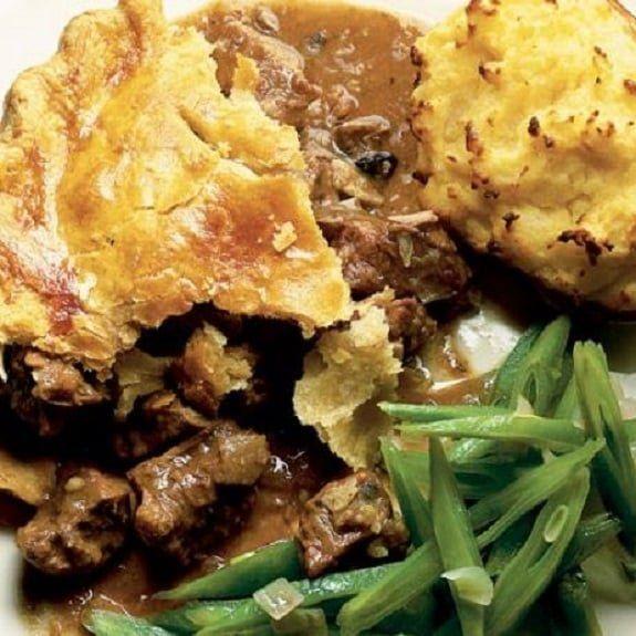 Slow Cooker Steak Kidney Pie | Recipe in 2020 | Steak ...