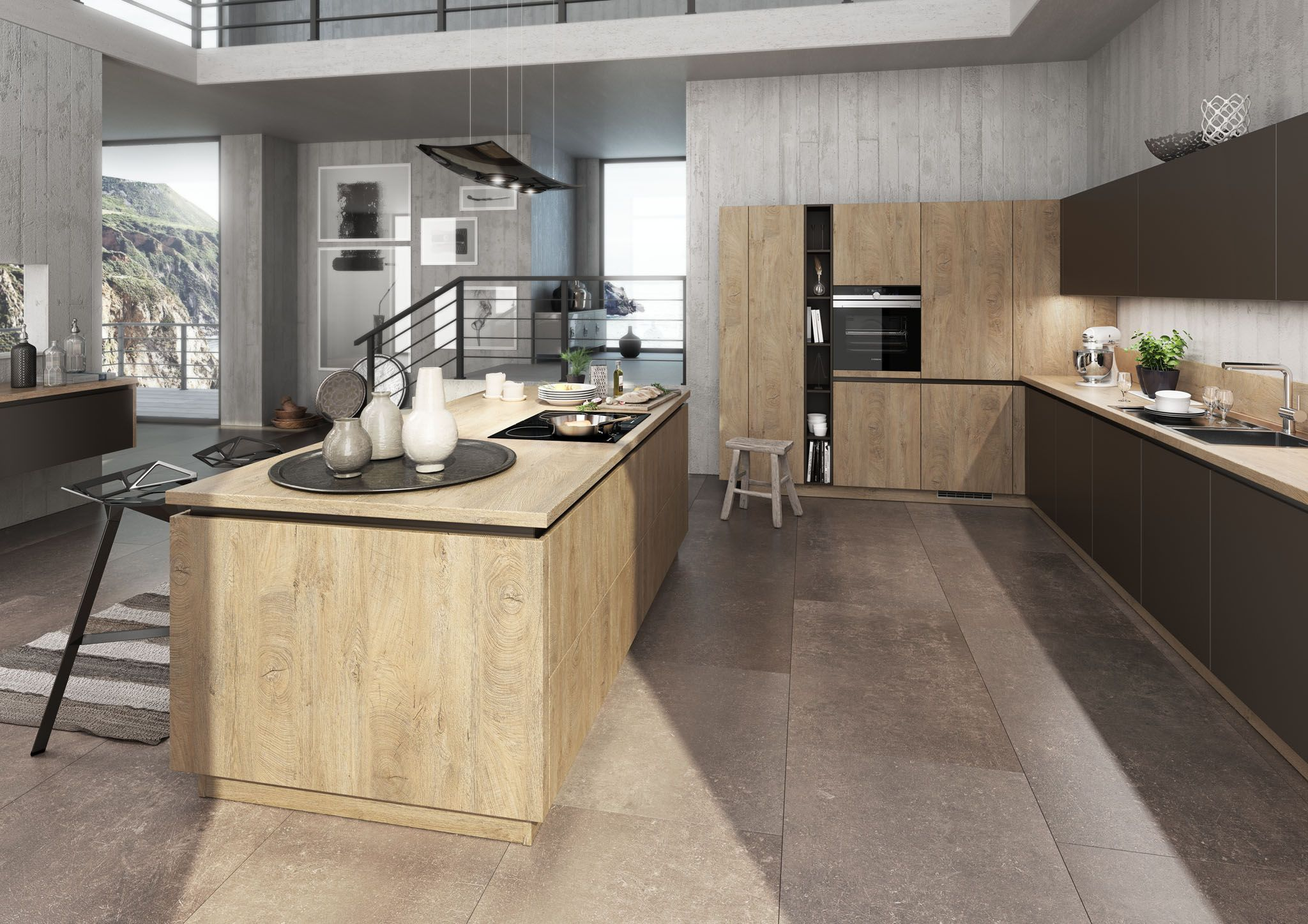 BAUFORMAT Küchen Moderne küche, Küche, Haus küchen